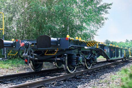 Výroba železničních nákladních vozů